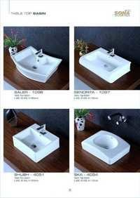 small table top basin