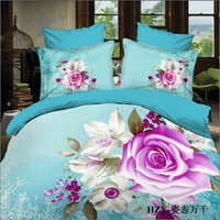 Floral Double Bed Sheets