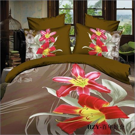 Floral Printed Bedspread