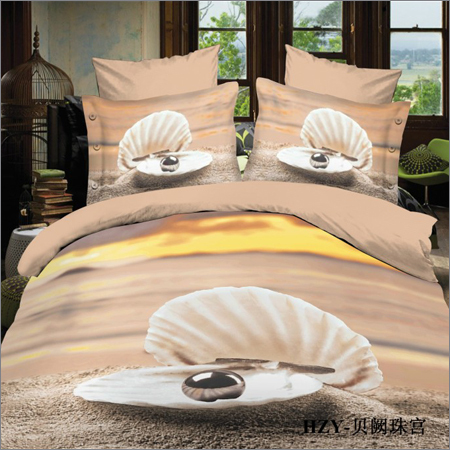 Single Bed Printed Bed Sheets