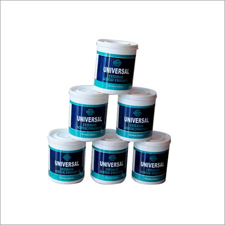 Acrylic Exterior Emulsions Paint