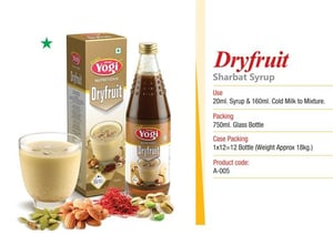 Dry Fruit Syrup