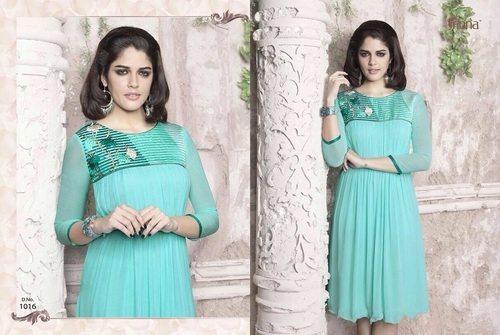 Fancy Georgette Long Kurtis