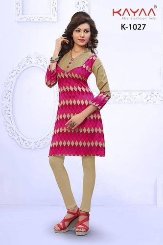 Bhagalpuri Silk Kurti