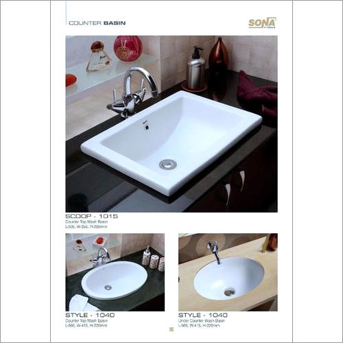 Counter Wash basin