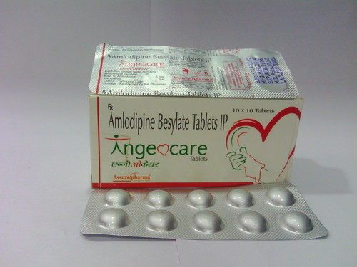 Amlodipine I.P Tablets 5mg