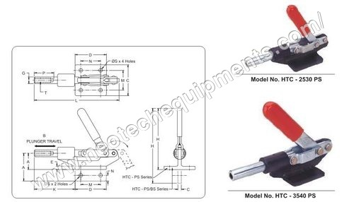 Straight Line Action Clamps Package Size