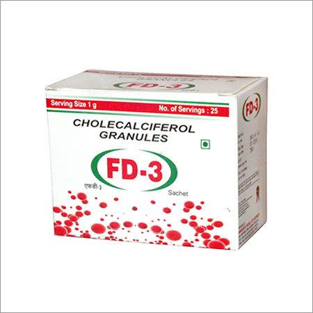 Vitamin D3 Sachets