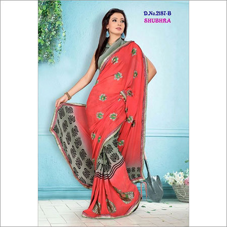 Silk Embroidery Sarees