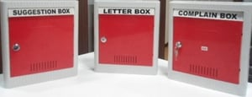 ABS PLASTIC LETTER BOX