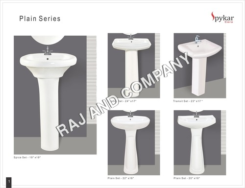 Semi Pedestal Wash Basin