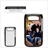 Blackberry Bold 2d Sublimation Cover
