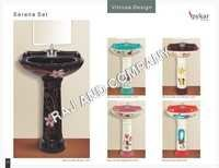 Colored Wash Basin