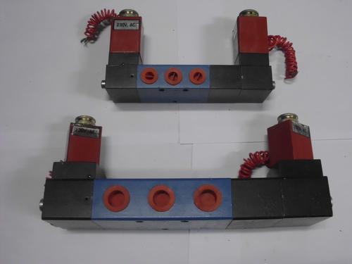5/3Double solenoid valve
