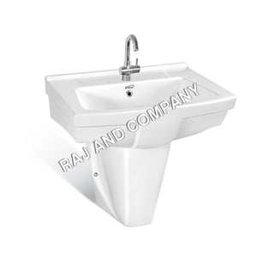 White Design Wash Basin