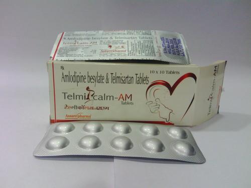 Amlodipine besylate & Telmisartan tablets