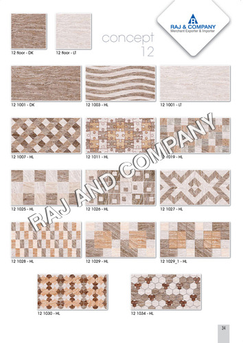 Digital Bathroom Wall Tile