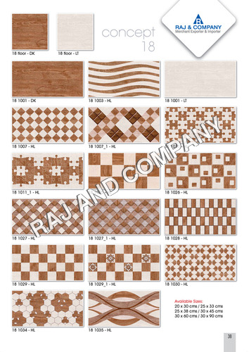 Digital Dining Room Wall Tiles