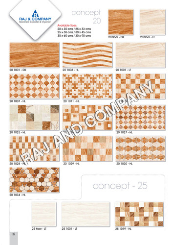 Digital Internal Wall Tiles