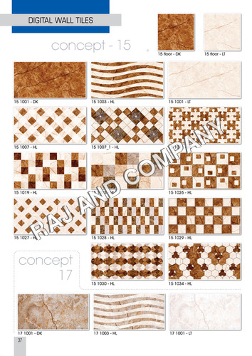 Digital Bedroom Wall Tiles