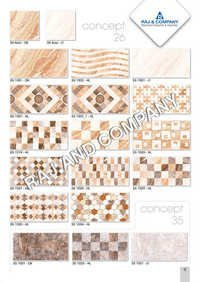 Digital Mat Wall Tiles