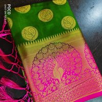 Traditional Art Silk Weaving Saree