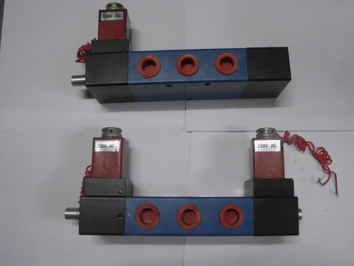 5/2 single and double solenoid valve