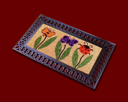 Rubber Moulded Coco Mat