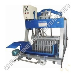 Semi Automatic Concrete Block Making Machine