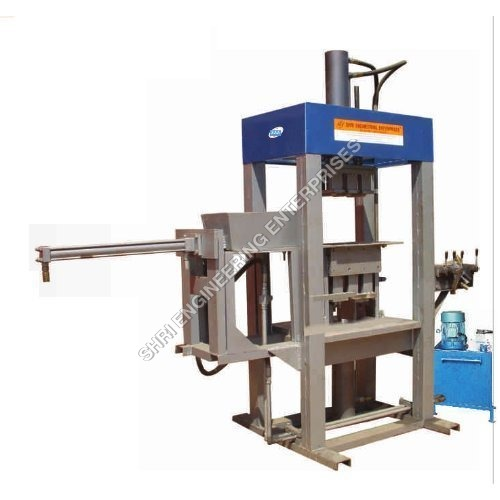 High Pressure Center Press Fly Ash Brick Making