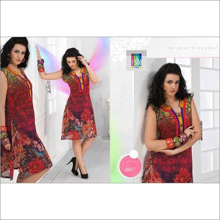 georgette kurties