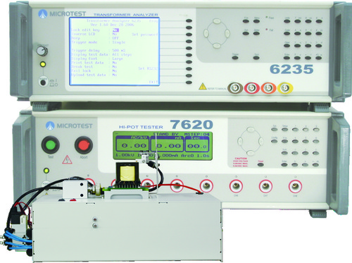 Digital Transformer Tester