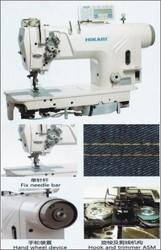 Direct Drive 1 Needle Bar 2 Needle Lockstitch Machine