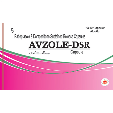 Raberprazole & Domperidone Sustained Capsules