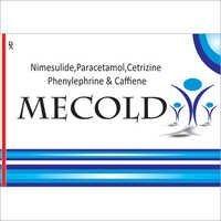 Nimesulide, Paracetamol,Cetrizine Phenylephrine