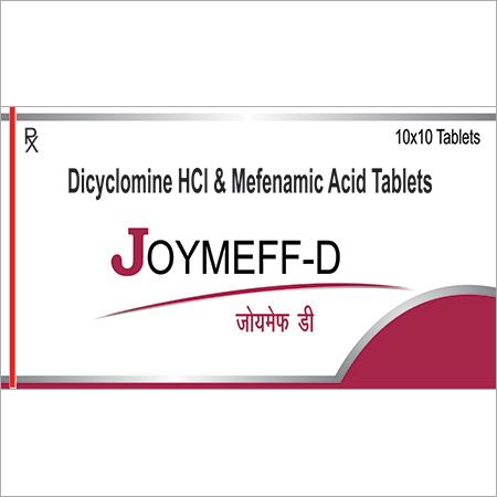 Dicyclomine HCL & Mefenamic Acid Tablets