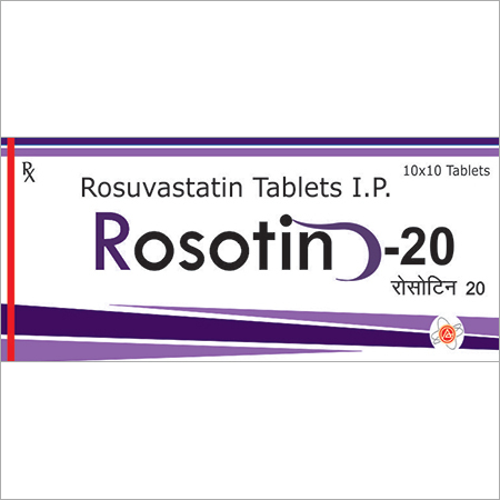 Rosuvastatin Tablets IP 20 MG