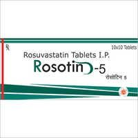 Rosuvastatin Tablets IP 5mg