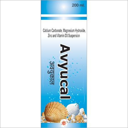 Calcium Carbonate & Vitamin D3 Syrup
