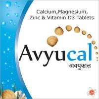 Calcium, Magnesium Zinc & Vitamin D3 Tablets