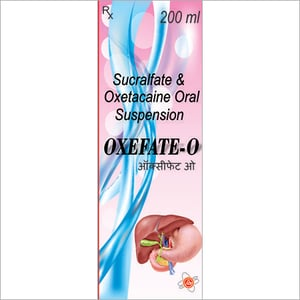 Sucralfate And Oxetacaine Syrup