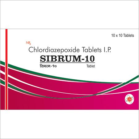 Chlordiazepoxide Tablets I.P