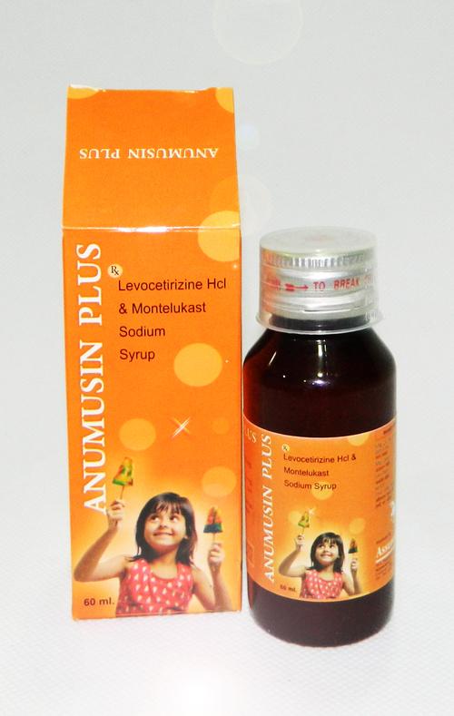 Levocetrizine Hcl & Montelukast Sodium Syrup