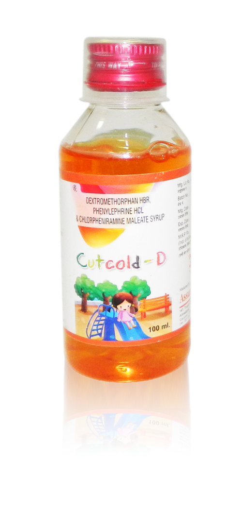 CUTCOLD-D 100 ml. Syrup