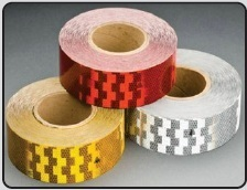 Retro Reflective Vehicle Marking Tapes - Conspicuity Tapes