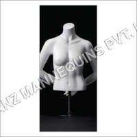 Torso Bust Female Mannequin