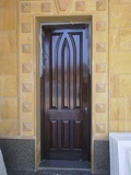 Designer Fixed Glass Door