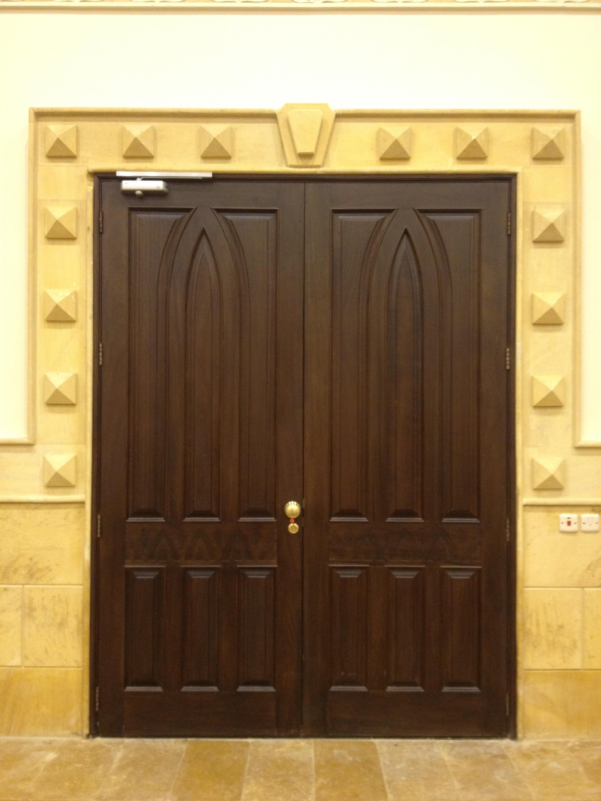 Designer Fixed Glass Door