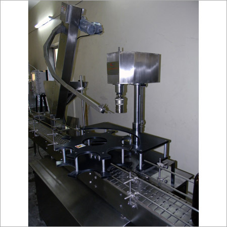 Automatic Flame Proof Screw Capping Machine