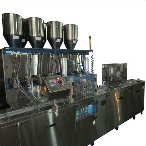 16 Head Automatic Colours Filling Machine